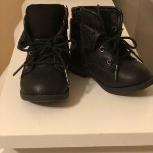 Toddler combat boots